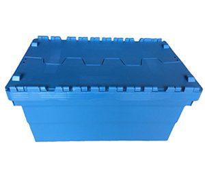 hinged lid storage bins