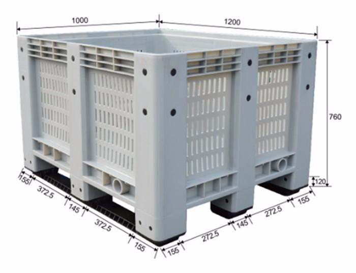 plastic bulk bins for sale PB-1210B1 | CnBoxStore com